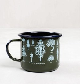 United By Blue EVERGREEN STEEL MUG FOREST 22oz