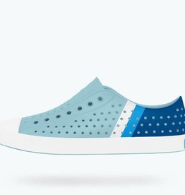 Native Shoes Jefferson Adult Block -Sky Blue
