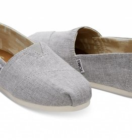 Toms Women's Drizzle Grey Slub Chambray