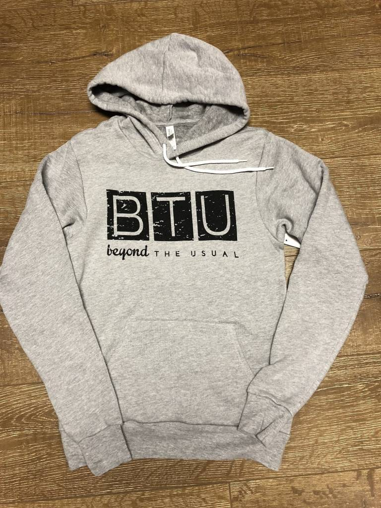 Beyond The Usual BTU Logo Unisex Hoodie Athl Heather
