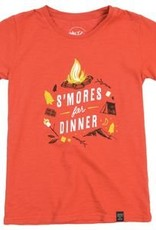 """United By Blue United By Blue """"Smores for Dinner"""" Kids Tee"""