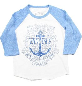 Westcoastees Kid's Island Girl Raglan