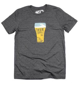 Westcoastees Men's Beer Coast Tee