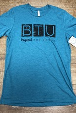Beyond The Usual BTU Logo Mens Tee - Teal