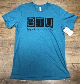 Beyond The Usual BTU Logo Mens Tee - Teal