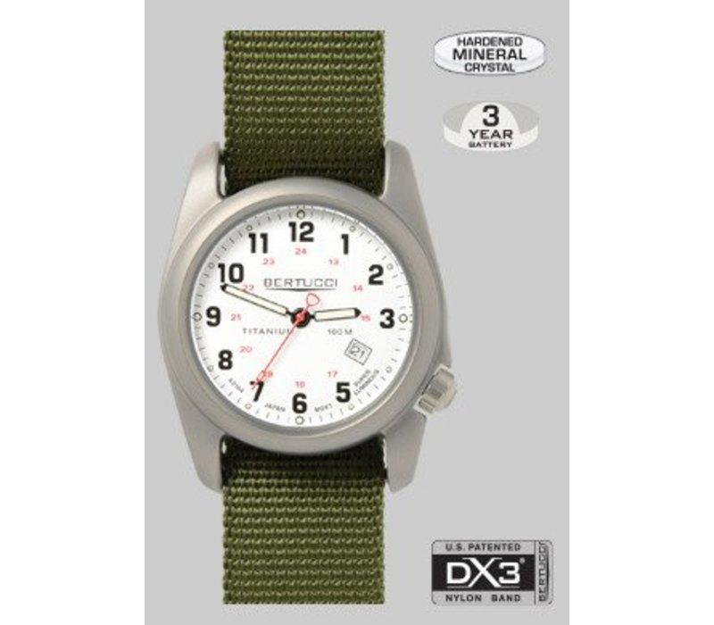 Bertucci 12121 A-2T Classic Field Watch