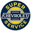 Ande Rooney Chevy Service Sign