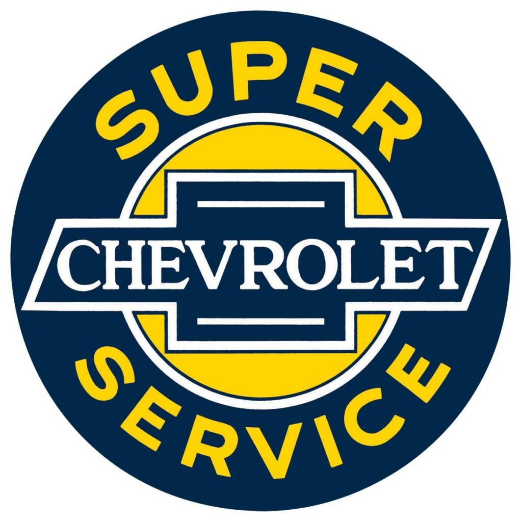 Chevy Service Sign