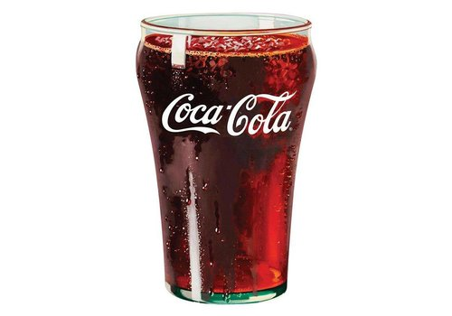 Ande Rooney Coke® Glass Tin Sign