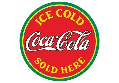 Ande Rooney Coke® Sold Here Tin Sign