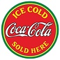 Coke® Sold Here Tin Sign