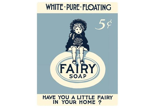 Ande Rooney Fairy Soap Sign