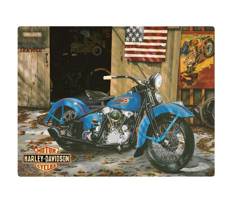 Harley Davidson At Your Service Sign