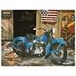 Harley Davidson At Your Service Sign