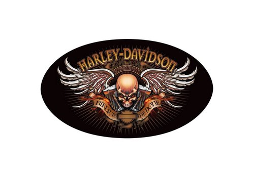 Ande Rooney Harley Davidson Biker To The Bone Sign