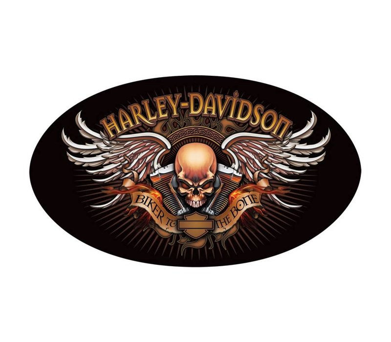 Harley Davidson Biker To The Bone Sign