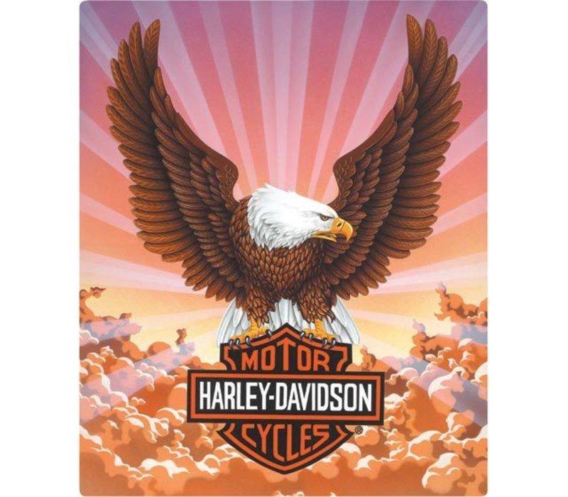 Harley Davidson Eagle W/Clouds Sign