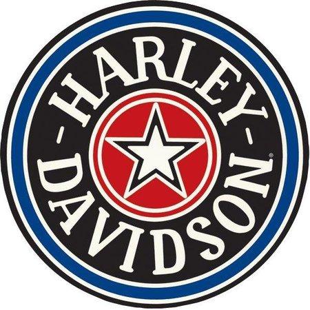 Harley Davidson Gas Cap Sign