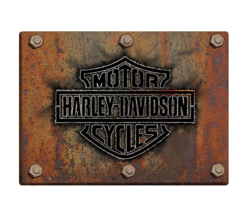 Harley Davidson Made Plate Sign
