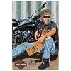Ande Rooney Harley Davidson Pandhandler Sign