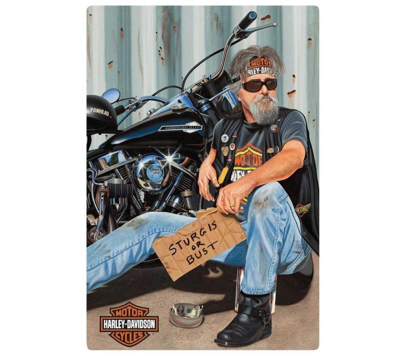 Harley Davidson Pandhandler Sign