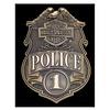 Ande Rooney Harley Davidson Police Shield Sign