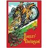 Ande Rooney Harley Davidson Rider Sign