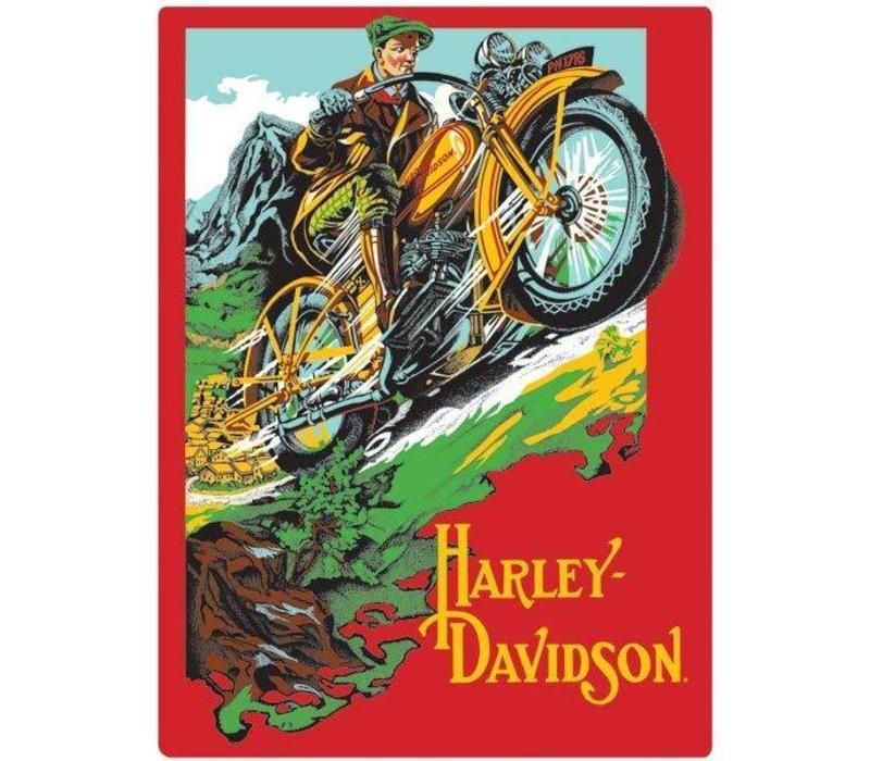 Harley Davidson Rider Sign