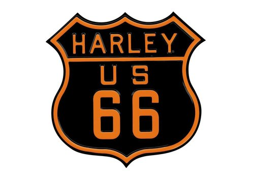 Ande Rooney Harley Davidson Rt 66 Sign