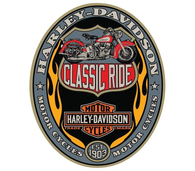 Harley Davidson Classic Ride Sign