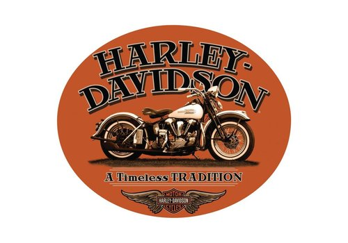 Ande Rooney Harley Davidson Timeless Tradition Sign