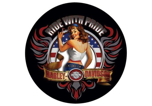 Ande Rooney Harley Davidson American Babe