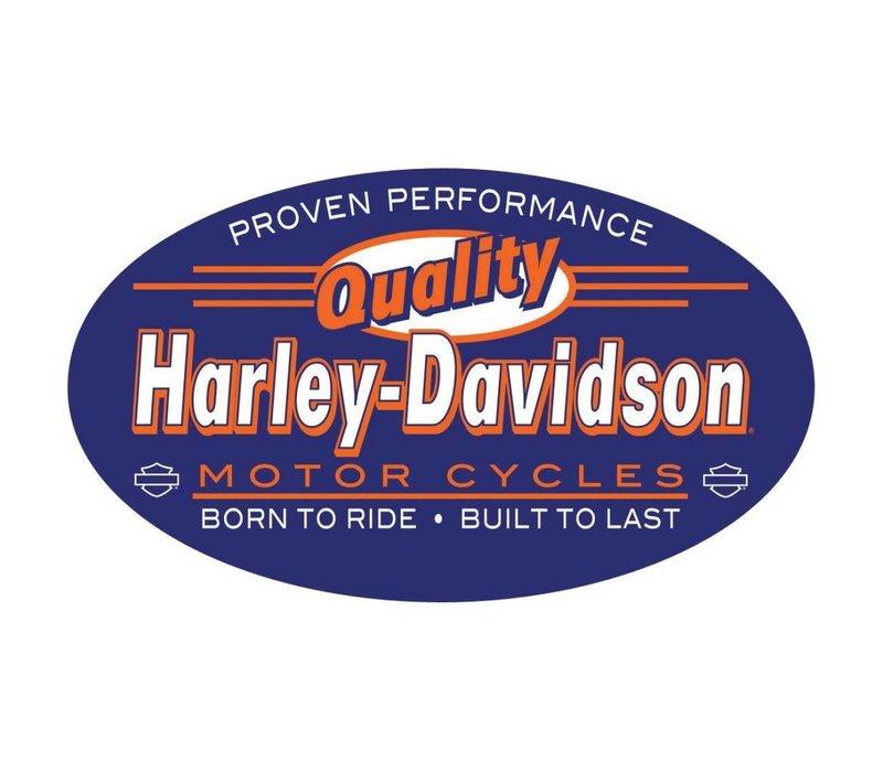 Harley Davidson Quality Embossed Tin Sign