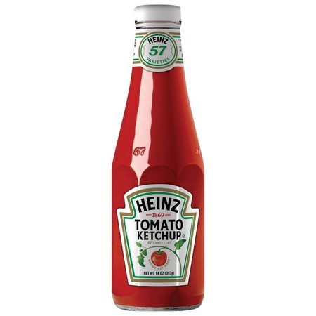 Heinz Ketchup Bottle Tin Sign