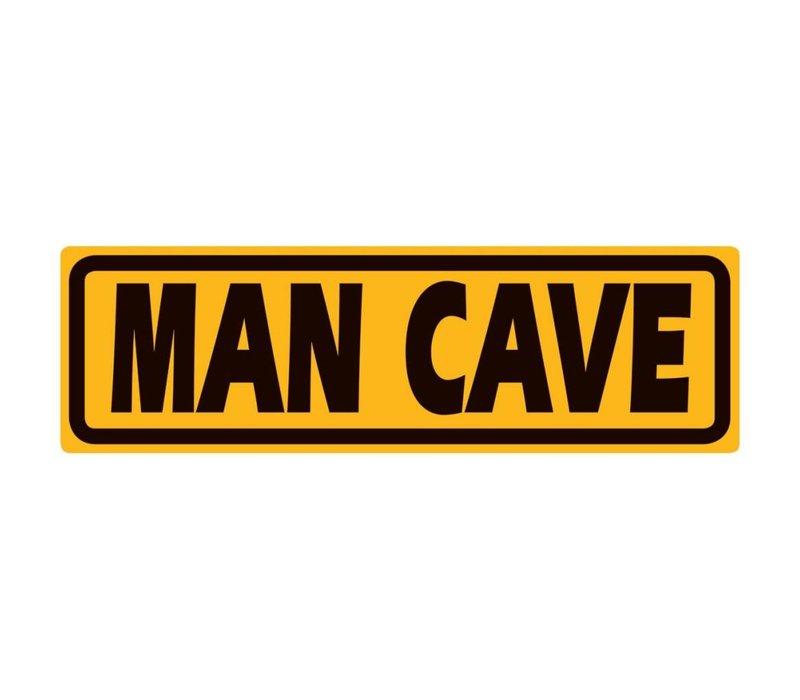 Man Cave Marker Tin Sign