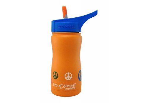 Kids Frost Triple Insulated Water Bottle w/Flip Spout - 13 oz
