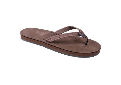 Rainbow Sandals Kids Narrow Leather
