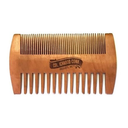 Wooden Beard Comb Fine and Coarse