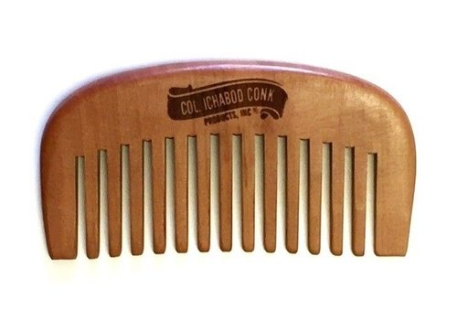 Colonel Ichabod Conk Wooden Beard Comb