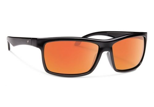 Forecast AJAY Black With Red Mirror Lens
