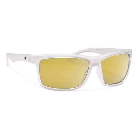 AJAY Matte Crystal With Gold Mirror Lens
