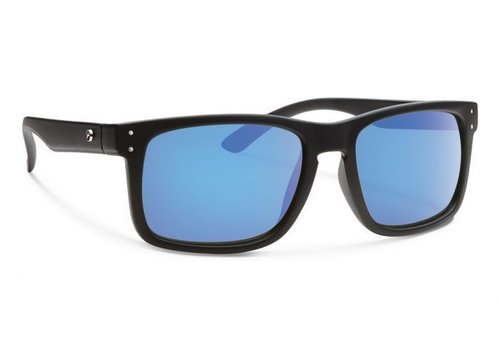Forecast CLYDE Matte Black With Blue Mirror Lens