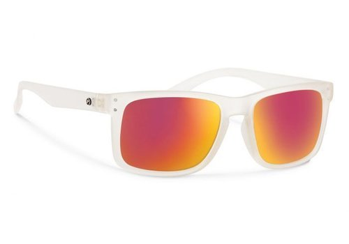 Forecast CLYDE Matte Clear With Red Mirror Lens