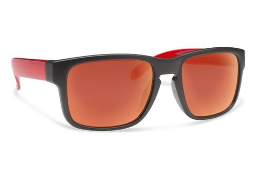 Forecast JUGGLE Matte Black With Red Mirror Lens