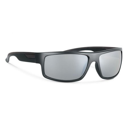 MARCUS Black With Silver Mirror Lens