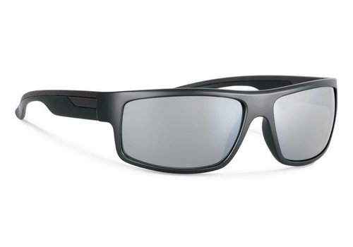 Forecast MARCUS Black With Silver Mirror Lens