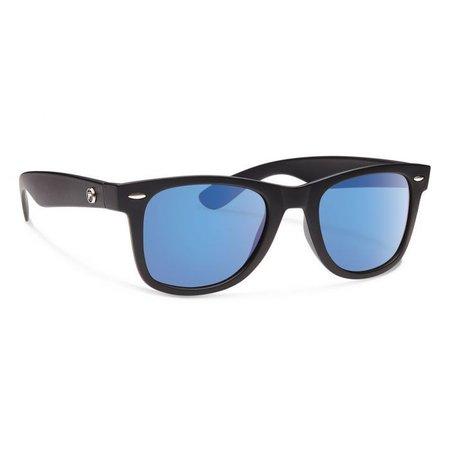 ZIGGIE Matte Black With Blue Mirror Lens