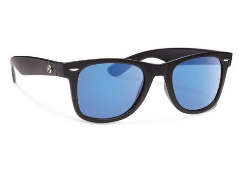Forecast ZIGGIE Matte Black With Blue Mirror Lens