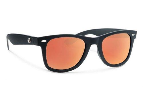 Forecast ZIGGIE Matte Black With Red Mirror Lens