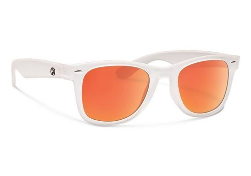 Forecast ZIGGIE Matte Clear With Red Mirror Lens